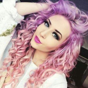 2018 Hair Trends Deep Violet